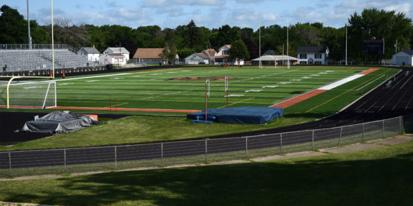 Pretzel Football Field